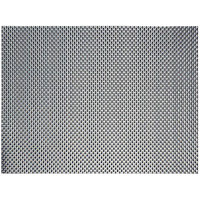 Front of the House XPM081ESV83 Metroweave 16 inch x 12 inch Cocoa Basketweave Woven Vinyl Rectangle Placemat - 12/Pack