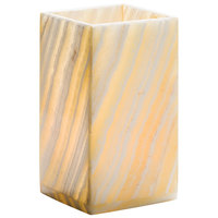 Hollowick 8217EA Luxor Alabaster Mid-Size Lamp