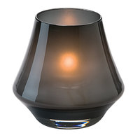 Hollowick 6955SM Chime Satin Midnight Glass Votive