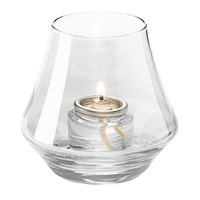 Hollowick 6955C Chime Clear Glass Votive