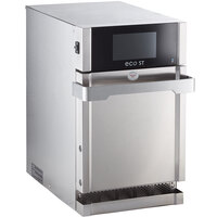 TurboChef Eco ST Stainless Steel Countertop High-Speed Oven - 208/240 V, 6200W