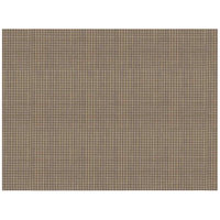 Front of the House XPM097GOV83 Metroweave 16 inch x 12 inch Gold Mesh Woven Vinyl Rectangle Placemat - 12/Pack