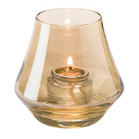 Hollowick 6955G Chime Gold Lustre Glass Votive
