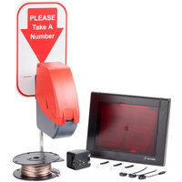 Turn-O-Matic 11001 Take a Number System with D900 Ticket Dispenser - Hard Wired