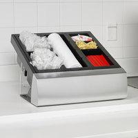San Jamar MODL2900KIT 4-Compartment Modular Condiment Organizer