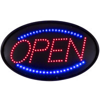 Choice 20 3/4 inch x 13 inch LED Open Sign With Four Display Modes