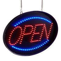 Choice 20 3/4 inch x 13 inch LED Open Sign With Four Display Modes and Acrylic Cover