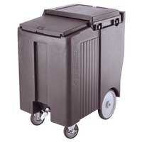 Cambro ICS175TB191 SlidingLid Granite Gray Portable Ice Bin - 175 lb. Capacity Tall Model