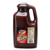 Branding Iron 1 Gallon Sweet and Savory Barbecue Sauce - 4/Case