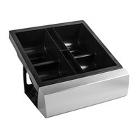 San Jamar MODBD2002 Mini Dome 4-Compartment Modular Condiment Bar Organizer Base