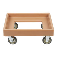 Cambro CD300 Coffee Beige Camdolly for Cambro Camtainers and Camcarriers