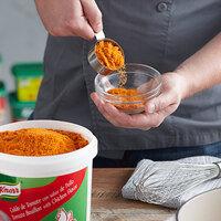 Knorr 4.4 lb. Caldo de Tomate con sabor de Pollo / Tomato Bouillon with Chicken Flavor Base   - 4/Case