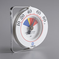 Comark CWT 6 inch HACCP Cooler Wall Thermometer