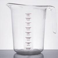 4 Qt. Clear Plastic Measuring Cup