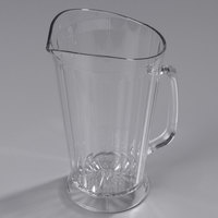 Carlisle 558307 Crystalite 48 oz. Clear Polycarbonate Beverage Pitcher