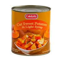 #10 Can Cut Sweet Potatoes in Light Syrup - 6/Case