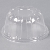 Dart Solo 32HDLC Clear High Dome Lid - 500/Case
