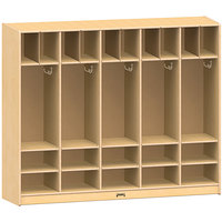 Jonti-Craft Baltic Birch 26859JC 60 inch x 15 inch x 50 1/2 inch Large Locker Organizer