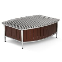 Vollrath 4667570 Brown Large Buffet Station with Wire Grill