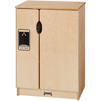 Jonti-Craft Baltic Birch 2440JC Gourmet 20 inch x 15 inch x 28 1/2 inch Toddler Kitchen Refrigerator