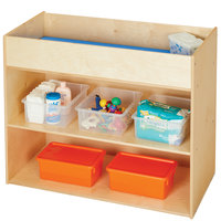 Young Time 7144YT 41 inch x 20 inch x 34 inch Natural Changing Table