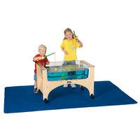Jonti-Craft Baltic Birch 8440JC 58 inch x 45 inch x 1/8 inch Waterproof Sensory Table Floor Mat