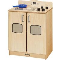 Jonti-Craft Baltic Birch 2409JC Culinary Creations 20 inch x 15 inch x 27 inch Kitchen Stove / Oven