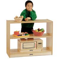 Jonti-Craft Baltic Birch 0530JC 36 inch x 15 inch x 29 inch Children's Open Wood Shelf