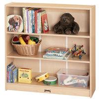 MapleWave 0970JC011 36 1/2 inch x 11 1/2 inch x 35 1/2 inch Natural Short Bookcase