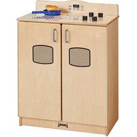 Jonti-Craft Baltic Birch 2409SA Culinary Creations 24 inch x 15 inch x 32 1/2 inch School Age Kitchen Stove / Oven