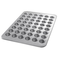 Chicago Metallic 45255 48 Cup 2.1 oz. Glazed Mini Muffin Pan