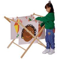 Jonti-Craft Baltic Birch 0226JC 36 inch x 31 inch x 36 inch Children's Wood Paint Drying Rack