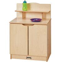 Jonti-Craft Baltic Birch 2437JC Gourmet 20 inch x 15 inch 28 1/2 inch Toddler Kitchen Cupboard