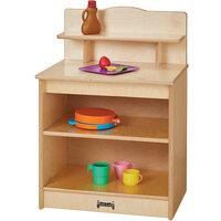 Jonti-Craft Baltic Birch 2427JC 20 inch x 15 inch 28 1/2 inch Toddler Kitchen Cupboard