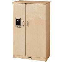Jonti-Craft Baltic Birch 2410SA Culinary Creations 24 inch x 15 inch x 40 inch School Age Kitchen Refrigerator
