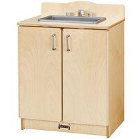 Jonti-Craft Baltic Birch 2408JC Culinary Creations 20 inch x 15 inch x 27 inch Kitchen Sink