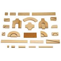 Jonti-Craft Baltic Birch 2641JC Children's Intermediate 170-Piece Hardwood Unit Block Set