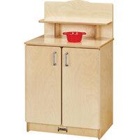 Jonti-Craft Baltic Birch 2407JC Culinary Creations 20 inch x 15 inch x 33 1/2 inch Kitchen Cupboard