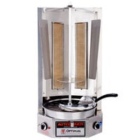 Optimal Automatics G-400 Autodoner Liquid Propane 65 lb. Vertical Broiler
