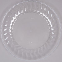 Fineline Flairware 209-CL 9 inch Clear Plastic Plate - 180/Case