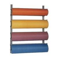 Bulman T293-24 24 inch Horizontal Four Paper Roll Wall Rack