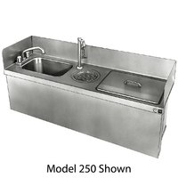 Delfield 242 Drop In Sink with Faucet - 18 inch x 13 1/2 inch