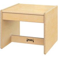 Jonti-Craft Baltic Birch 0378JC 15 inch x 15 1/2 inch x 13 inch Children's Wood Living Room End Table