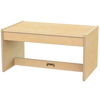 Jonti-Craft Baltic Birch 0377JC 25 inch x 15 1/2 inch x 13 inch Children's Wood Living Room Coffee Table