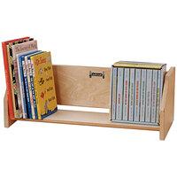 Jonti-Craft Baltic Birch 0272JC 24 inch x 10 inch x 8 1/2 inch Wood Book Holder Display