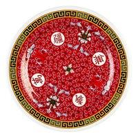 Longevity 9 1/8 inch Round Melamine Plate - 12/Pack