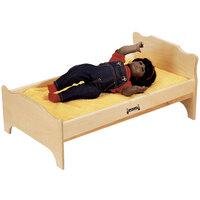 Jonti-Craft Baltic Birch 0215JC 27 inch x 16 inch x 12 inch Wood Doll Bed
