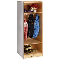 Jonti-Craft Baltic Birch 4679JC 18 inch x 18 inch x 50 inch Dress-Up Locker