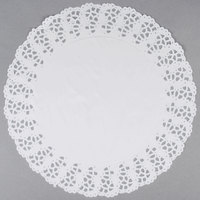 Hoffmaster 500260 16 1/2 inch Lace Doily - 500/Case