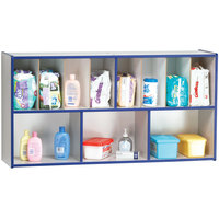 Rainbow Accents 5141JC003 48 inch x 12 inch x 25 inch Blue TRUEdge Freckled-Gray Diaper Changing Supplies Organizer